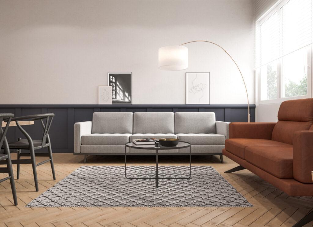 Kanapy w salonie